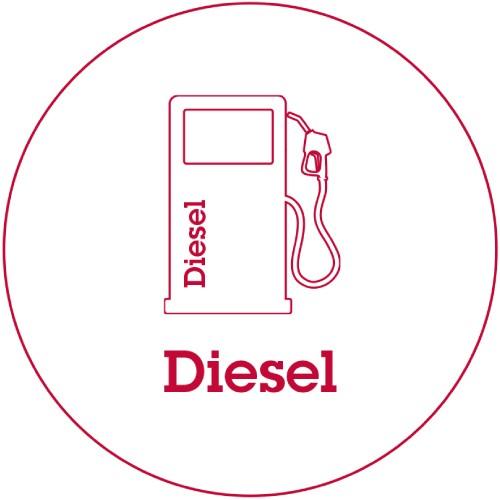 Le diesel reste en production mais il perd rapidement du terrain.