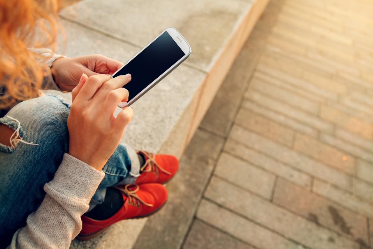 Online banking sur smartphone