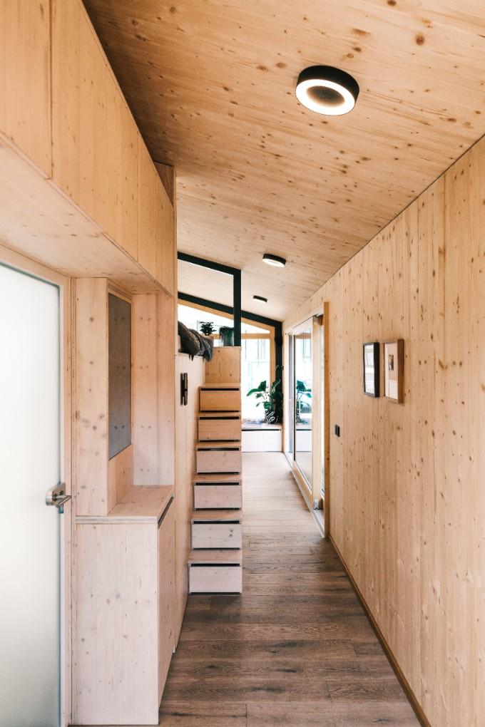 Stylish Tiny House Interior
